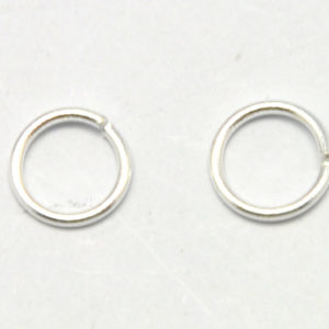716dbd5c2 925 Sterling Silver – Open Jump Rings, 0.8*6mm, 8 pcs (19-C)