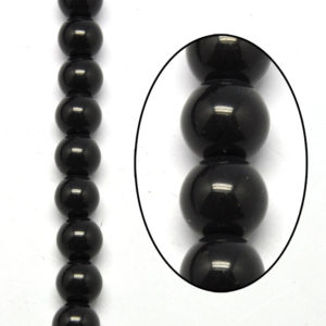 Beads African White Glass Beads 4mm